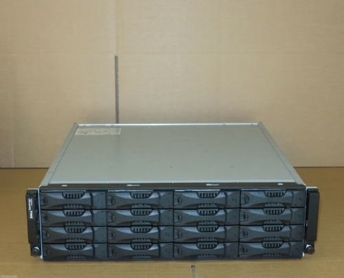 Dell EqualLogic PS4000X Virtualized iSCSI SAN Storage Array 2x Controllers 9.6TB